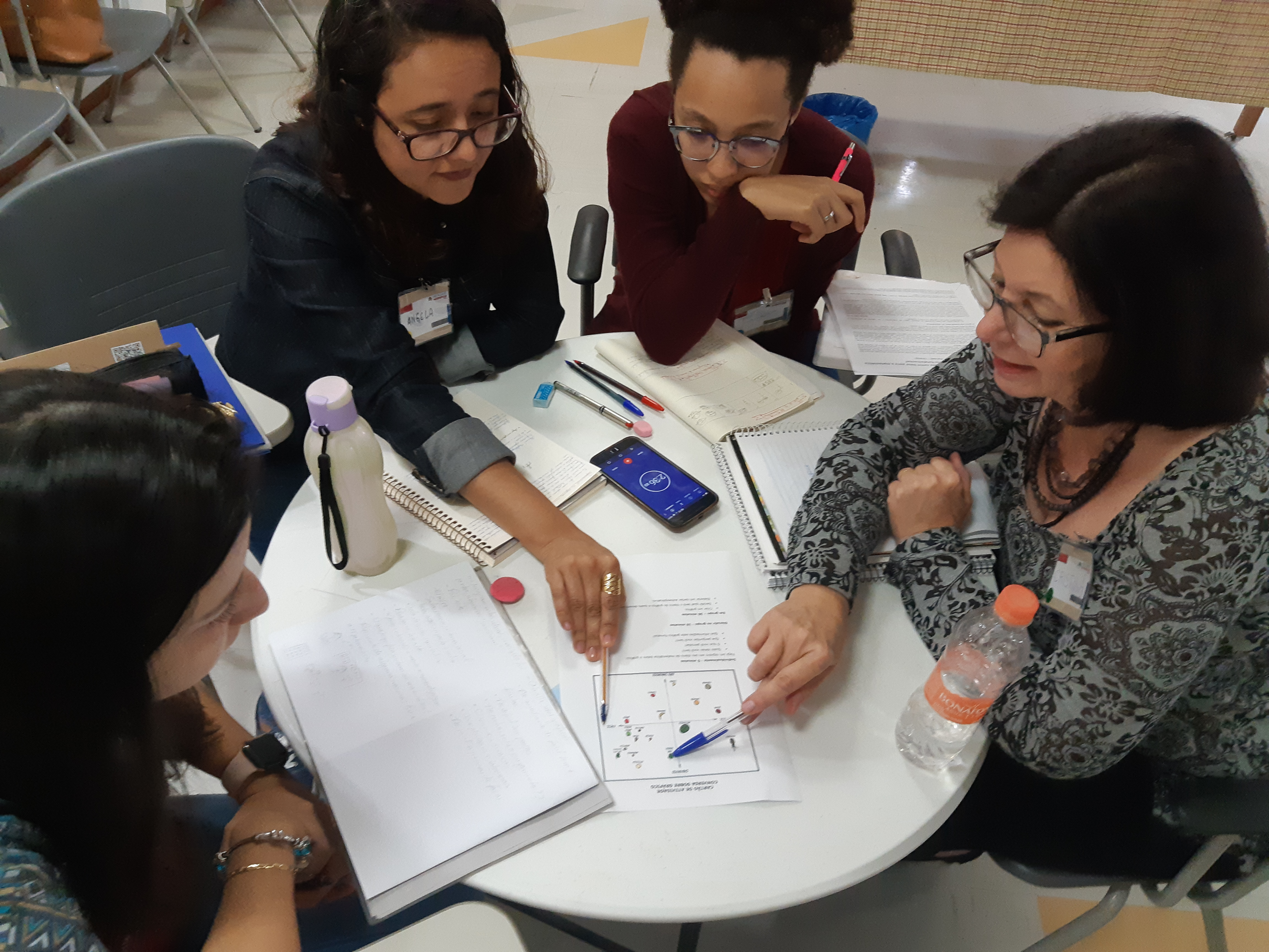 Instituto Sidarta finaliza formação de professores para o primeiro Curso de Férias do Programa Mentalidades Matemáticas
