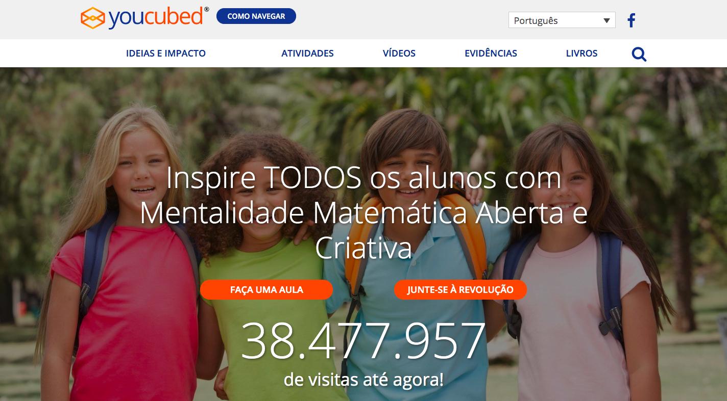 Plataforma Youcubed disponibiliza, gratuitamente, conteúdos para ensinar matemática de forma criativa