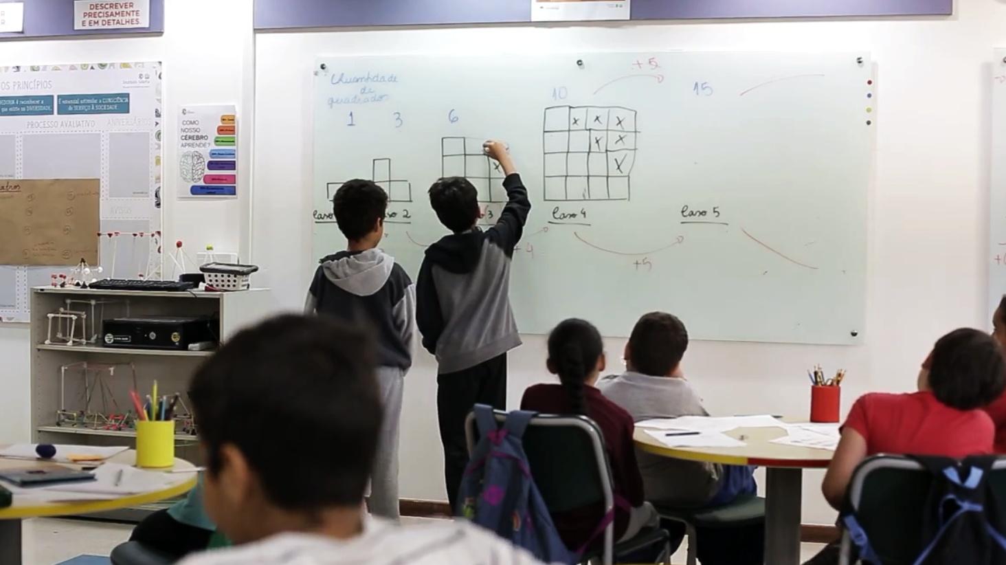Crianças trocam lazer por matemática divertida no Curso de Férias do Instituto Sidarta