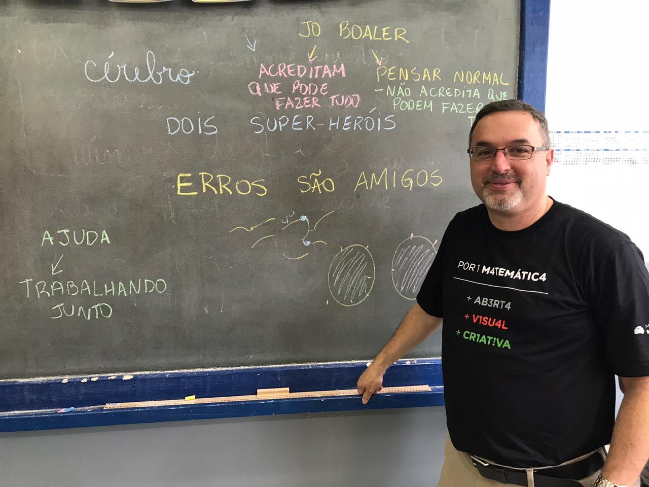'Conecte-se à revolução matemática!', diz Jack Dieckmann