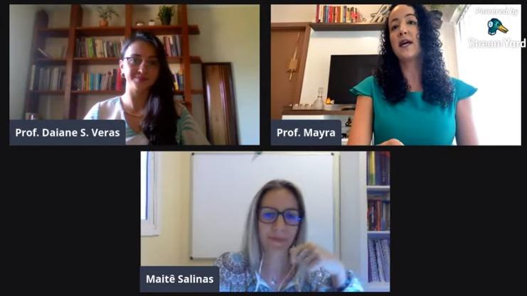 'Nosso maior presente é deixar o aluno construir seu conhecimento', diz Maitê Salinas