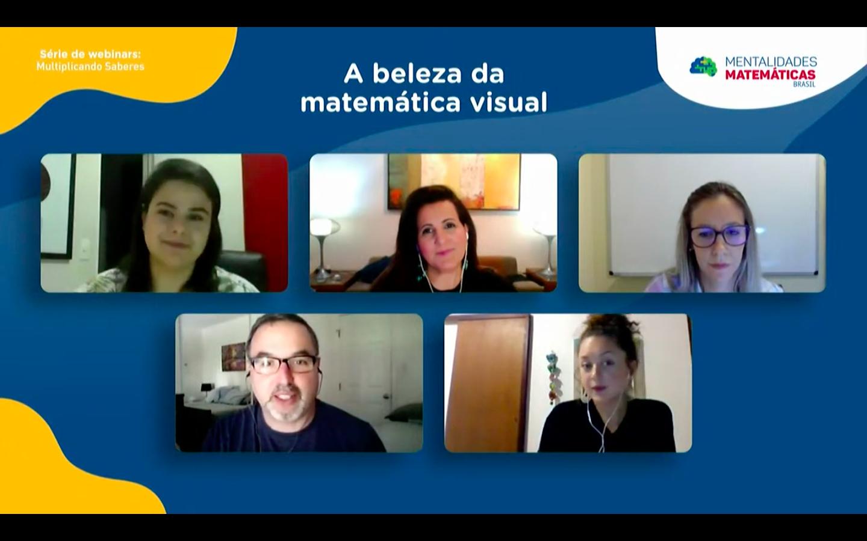 Professores compartilham experiências com a matemática visual
