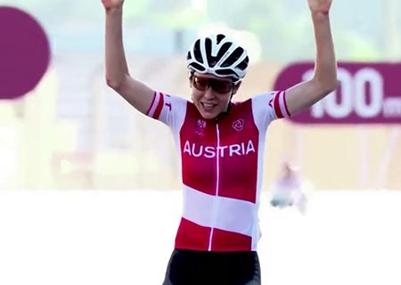 Anna Kiesenhofer, ciclista e matemática